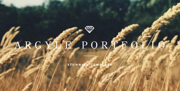 Argyle - Responsive Elegant Site Template