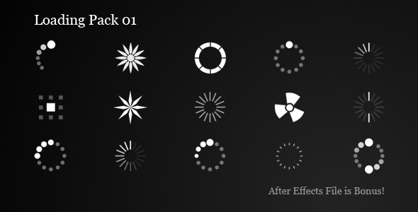 Animated Loading Icons Pack
