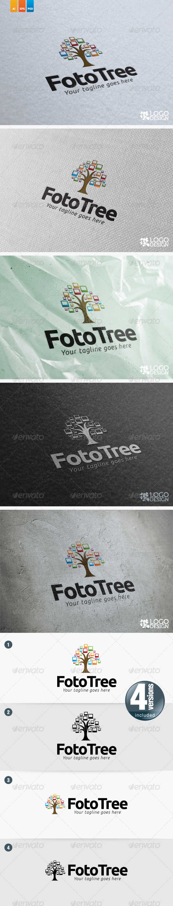 GraphicRiver Foto Tree 5738197