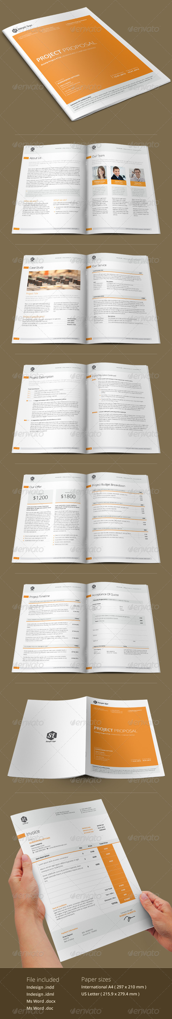 GraphicRiver Kreatip Proposal Template 5738320