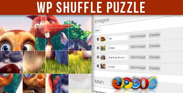 CodeCanyon WP Shuffle Puzzle 5738331