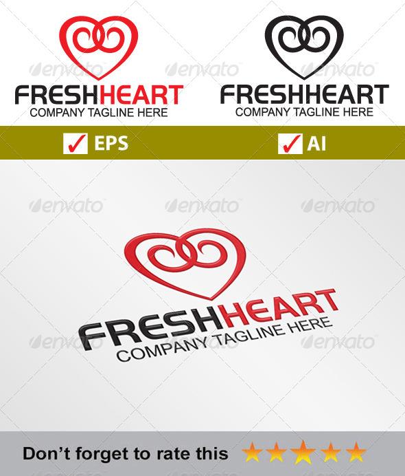 GraphicRiver FreshHeart Logo 5723232