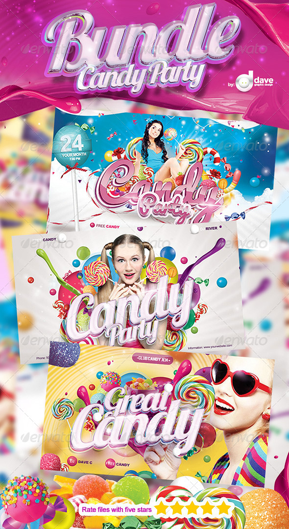 Bundle Candy Party - Clubs & Parties Events