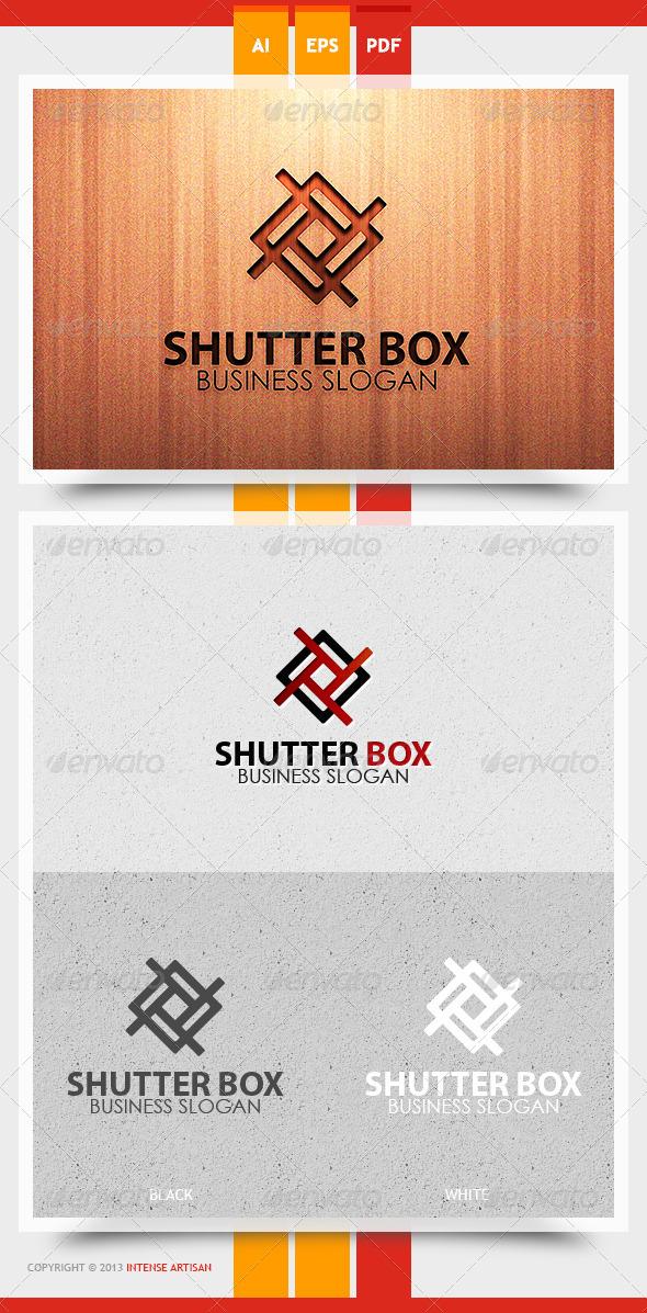 GraphicRiver Shutter Box Logo Template 5739111