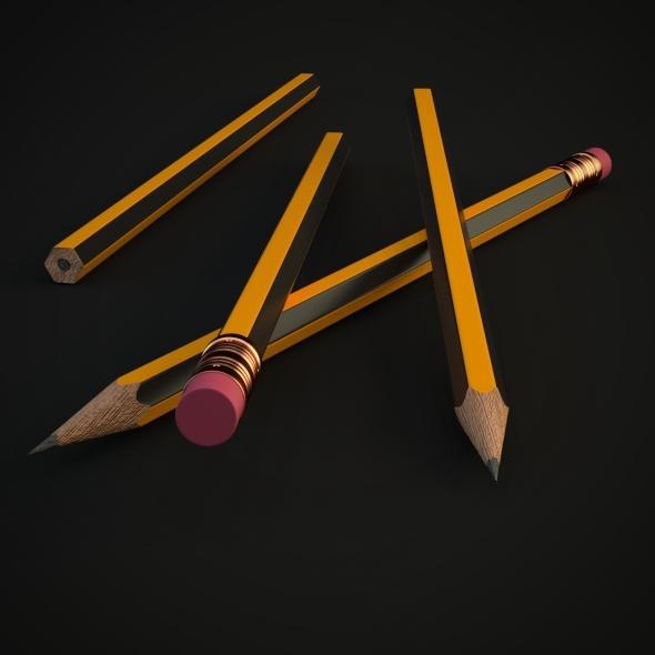 3DOcean Pencil 5739374