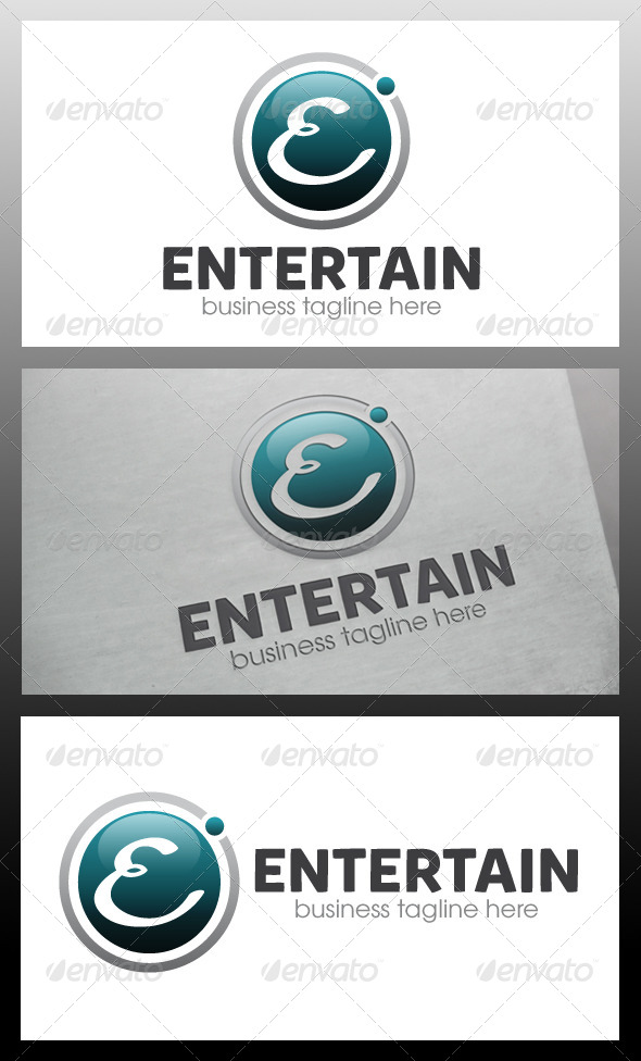 GraphicRiver Entertainment Logo Template 5739432