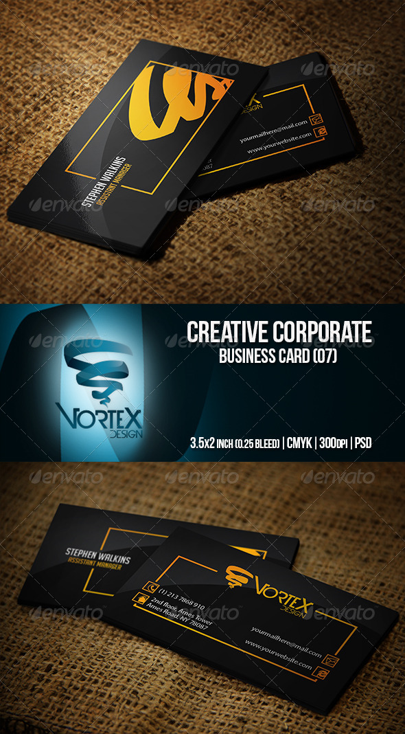 GraphicRiver Creative Corporate Business Card 07 5739447