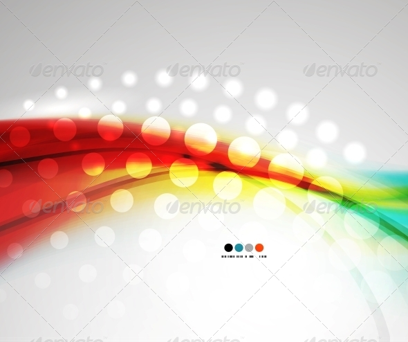 GraphicRiver Abstract Red Shiny Wave Pattern 5739530