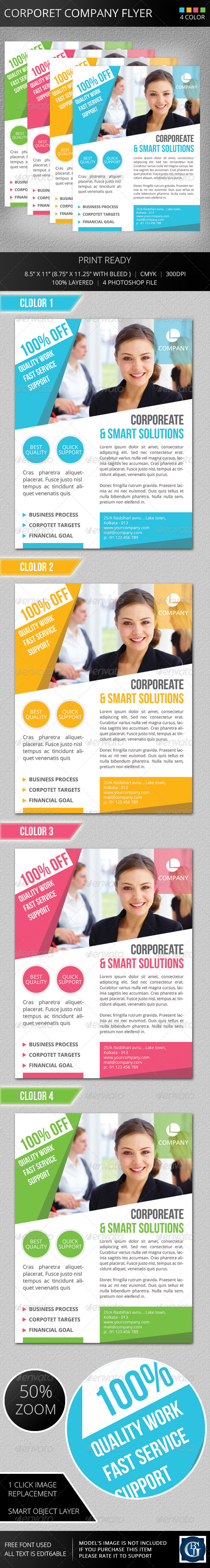 GraphicRiver Corporate Company Flyer 5670855