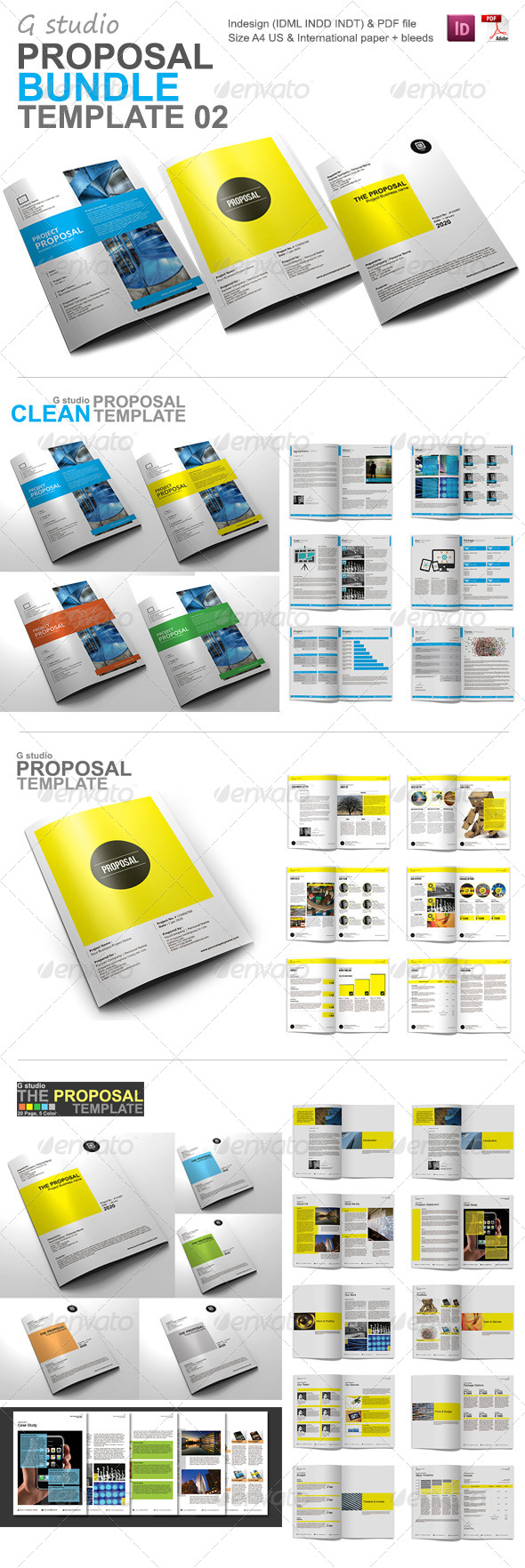 GraphicRiver Gstudio Proposal Bundle 02 5739950