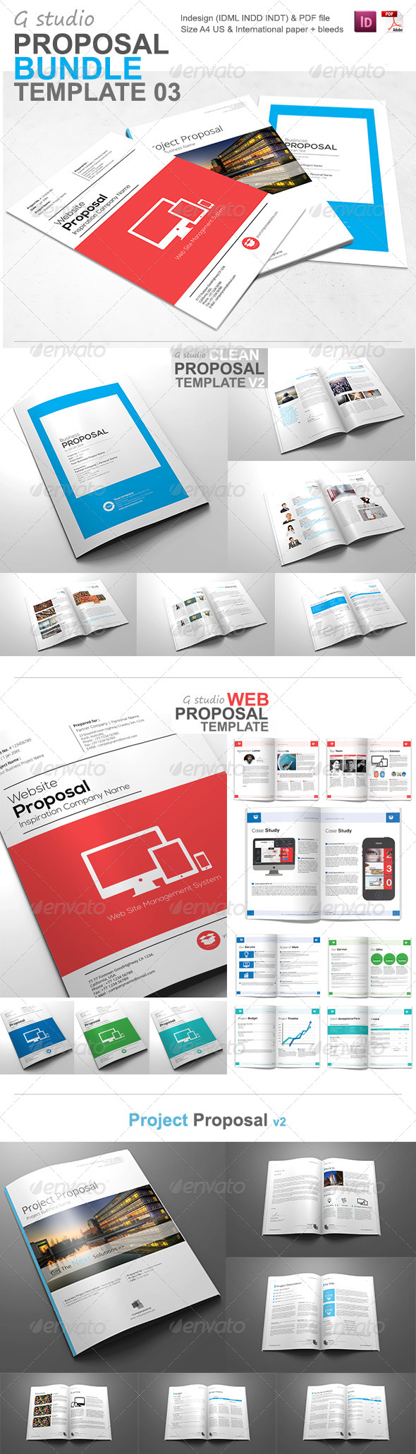 GraphicRiver Gstudio Proposal Bundle 03 5740073