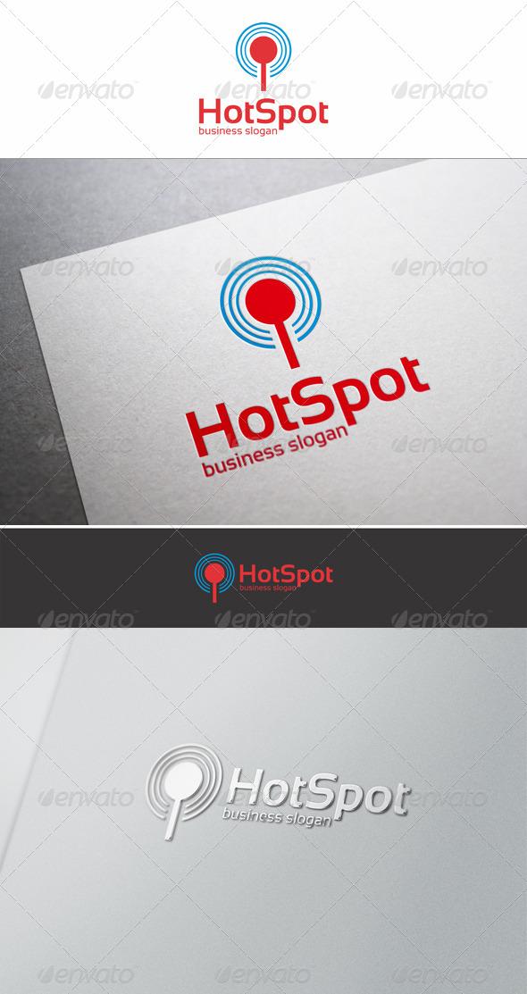 Hot Spot Logo - Symbols Logo Templates