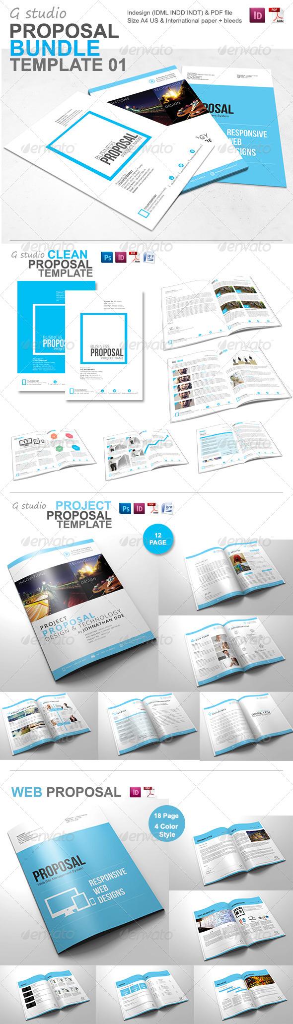 GraphicRiver Gstudio Proposal Bundle 01 5740520
