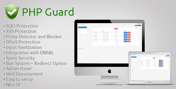 CodeCanyon phpGuard Security for your site 5717942