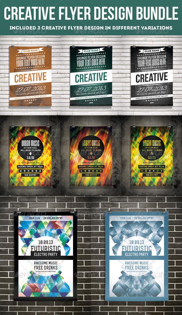 GraphicRiver Creative Flyer Design Bundle 5740866