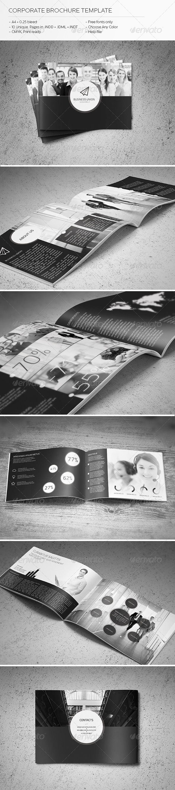 GraphicRiver Corporate Brochure Template 2 5740939
