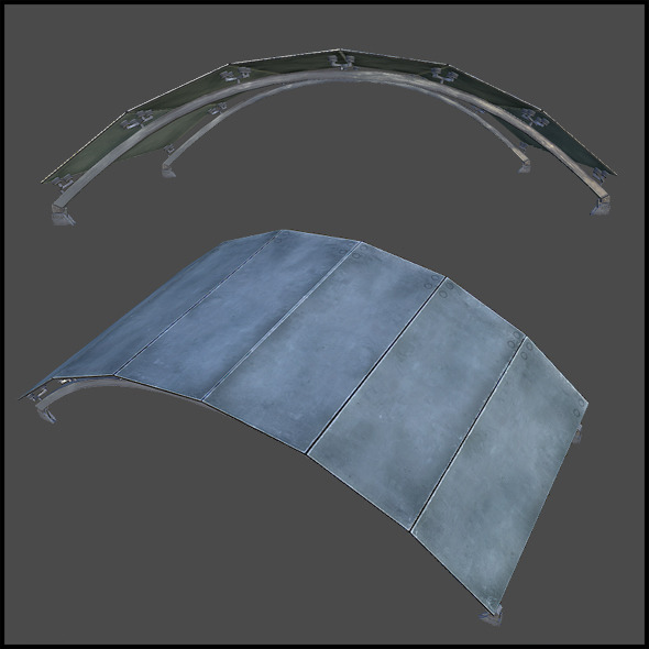 Ceiling Grid Arch - 3DOcean Item for Sale