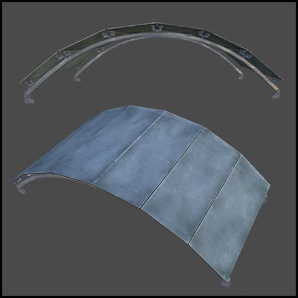 3DOcean Ceiling Grid Arch 5741156