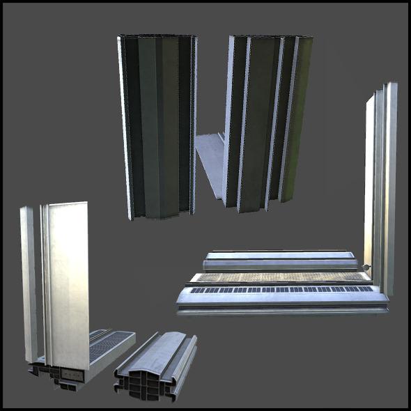 3DOcean Facade Set 01 5741329