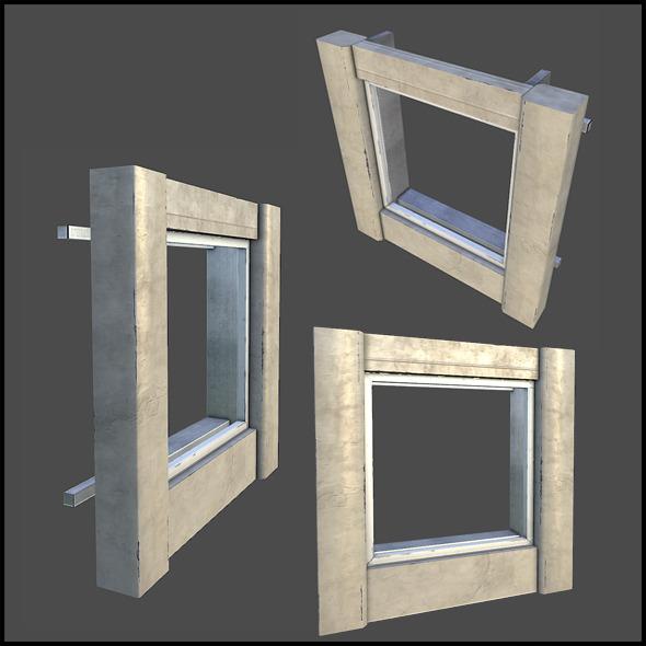 3DOcean Facade Set 03 5741390