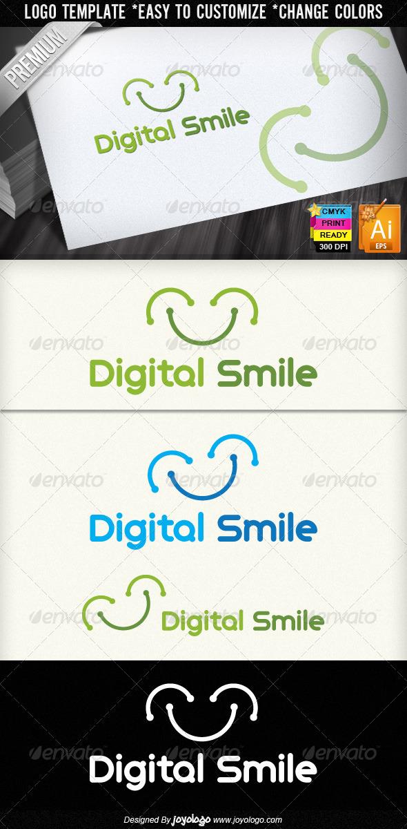 Digital Smile Logo Design
