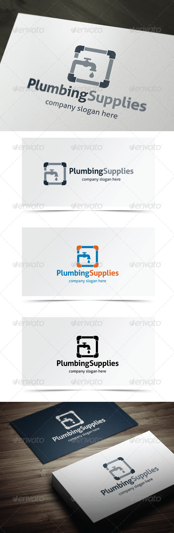 Plumbing Supplies Graphicriver