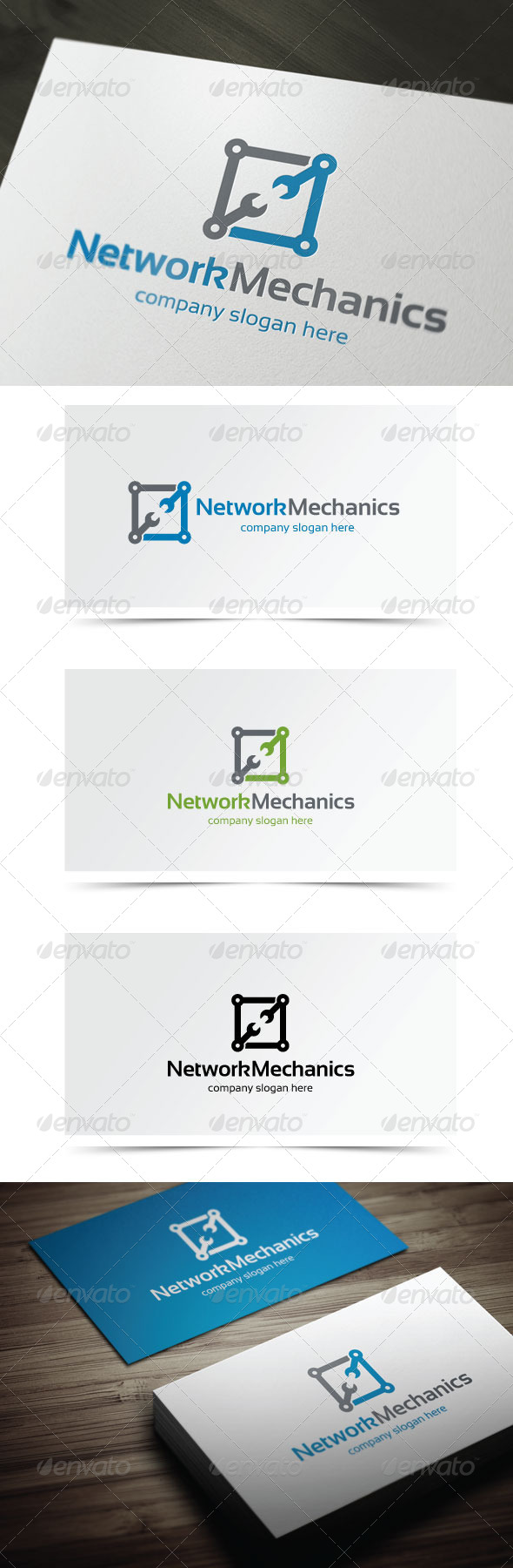 GraphicRiver Network Mechanics 5741831
