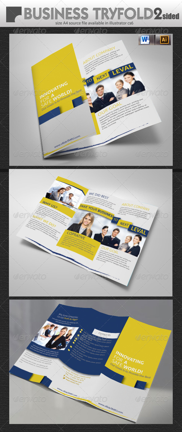 GraphicRiver Business Tri-Fold Brochure 5741962