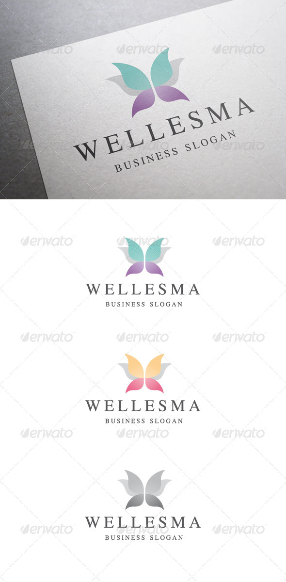 GraphicRiver Wellesma Logo 5229480