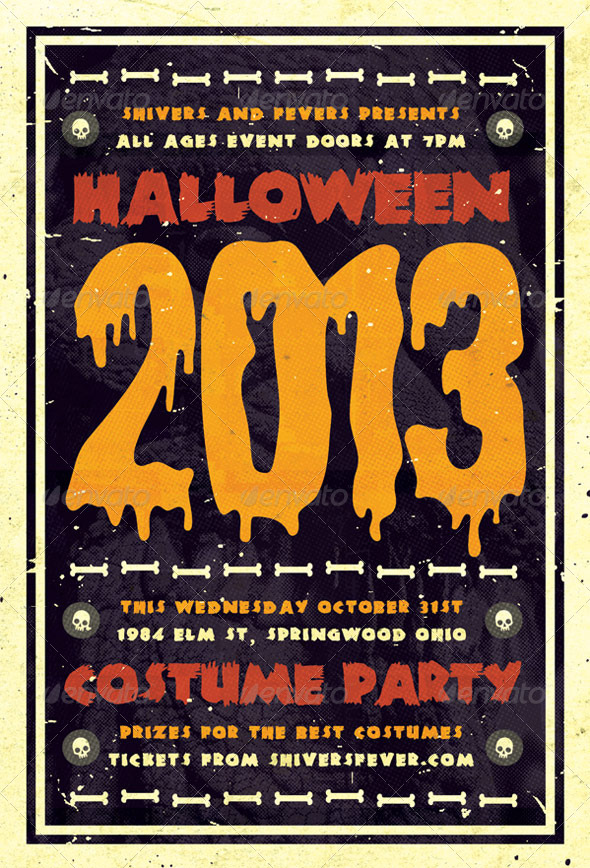 GraphicRiver Spooky Halloween Flyer Template 5742024