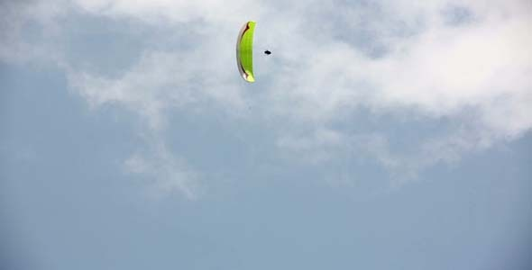 Paraglides In The Sky 3