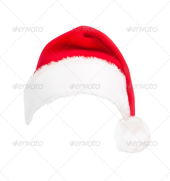 GraphicRiver Red Santa Hat 5742084