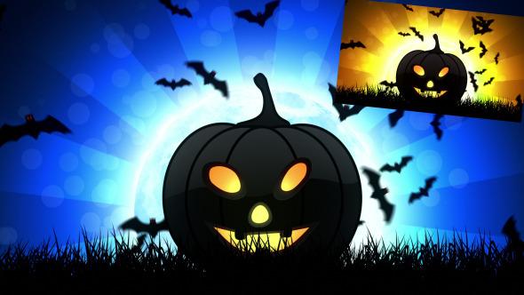 Halloween Pumpkin 2 Background