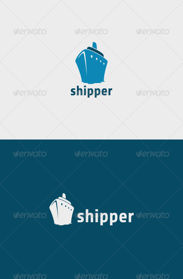 GraphicRiver Shipper Logo 5743300