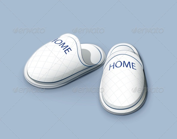 GraphicRiver Slippers 5743425