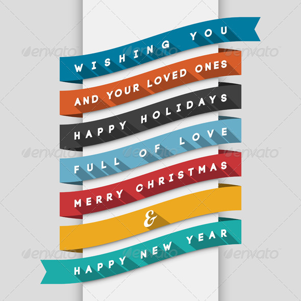GraphicRiver Holidays Greeting Card 5743761