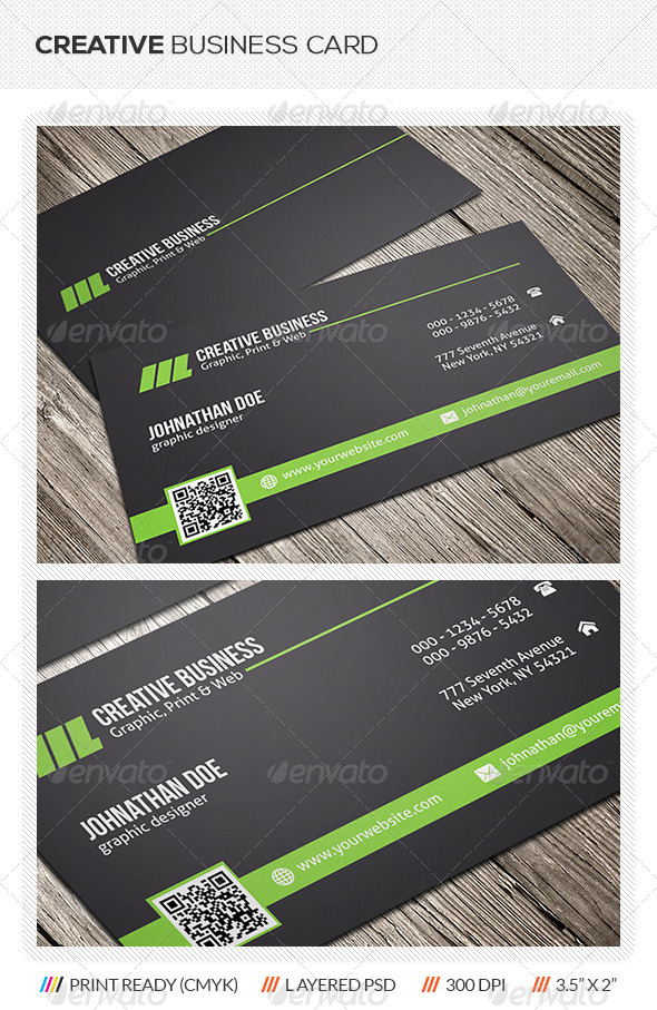 GraphicRiver Creative Business Card 5744180