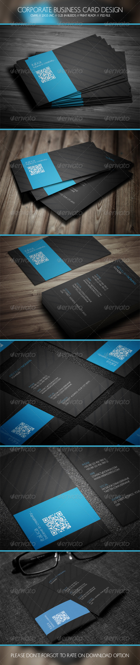 GraphicRiver Business Card Design 5744392