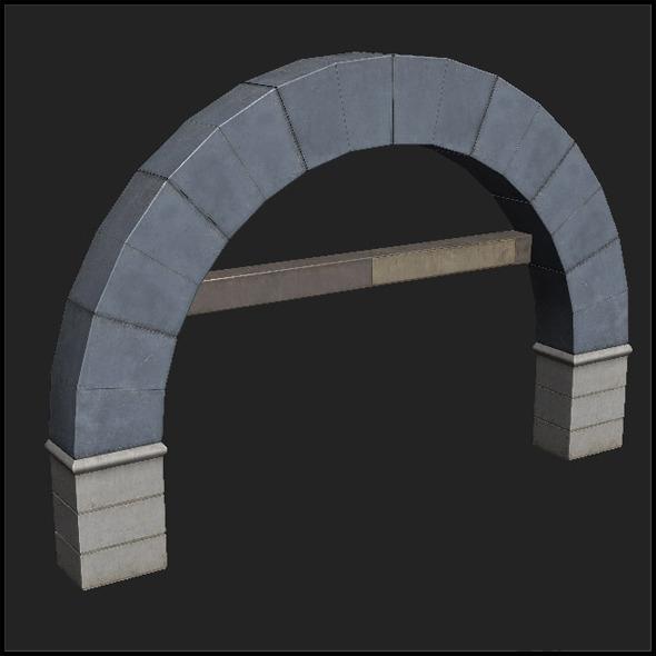 3DOcean Concrete Arch 5744423
