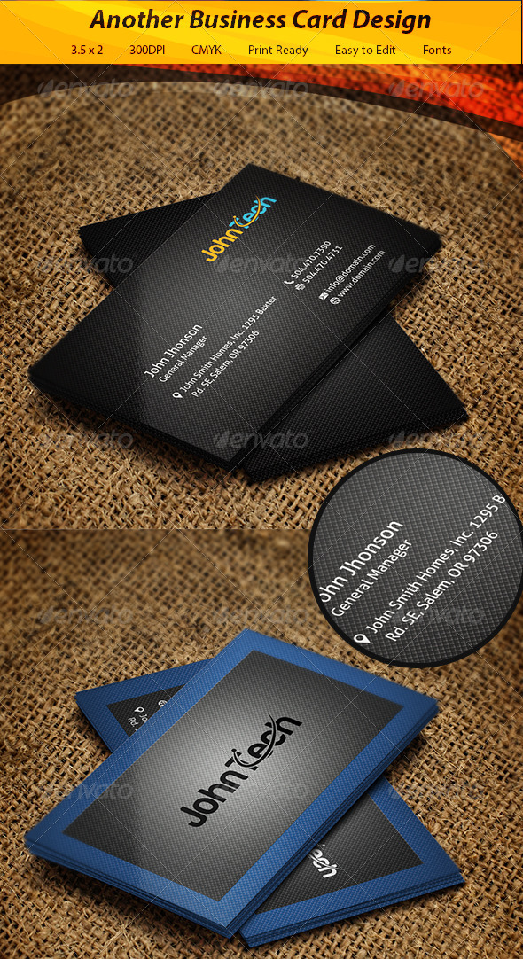 GraphicRiver Business Card 5744431