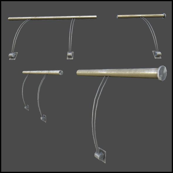 3DOcean Hand Railing 5744524