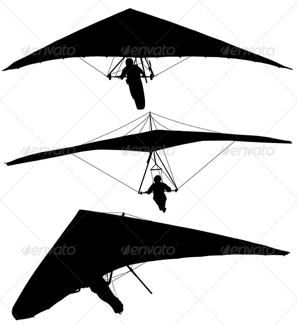 GraphicRiver Hang Glider 5744579