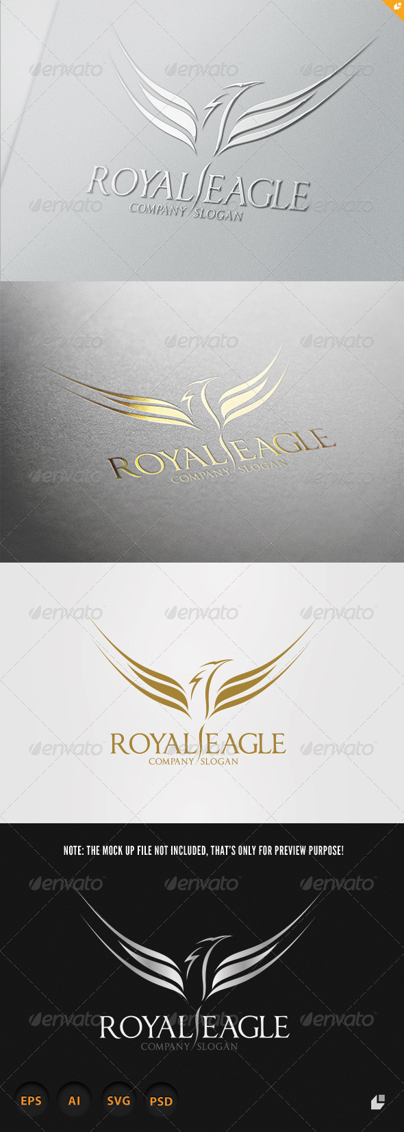 Royal Eagle Logo - Crests Logo Templates