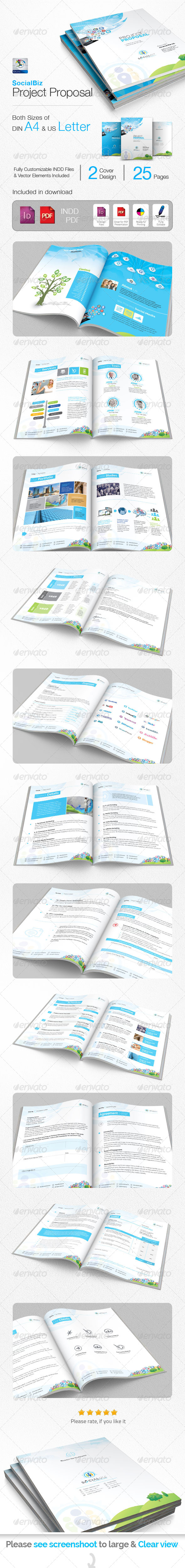 GraphicRiver SocialBiz Social Media Proposal 5745072