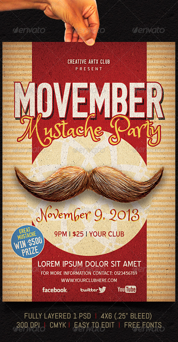 GraphicRiver Movember 5745598
