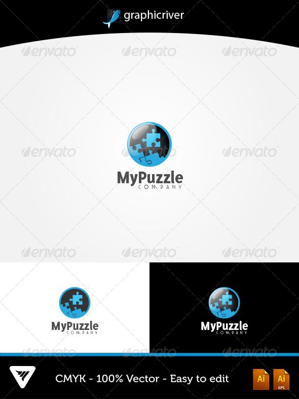GraphicRiver MyPuzzle Logo 5746534