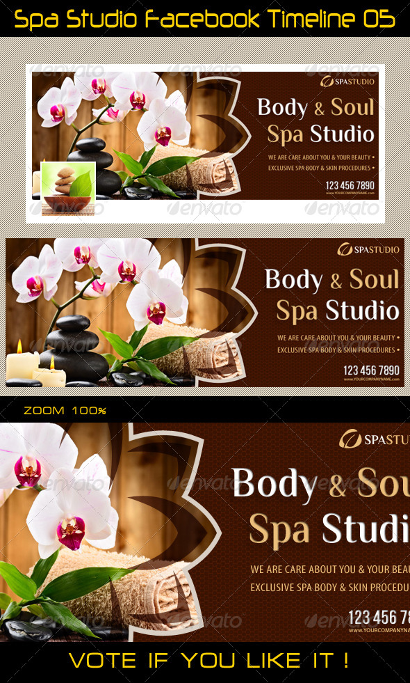 GraphicRiver Spa Studio Facebook Timeline 05 5746624