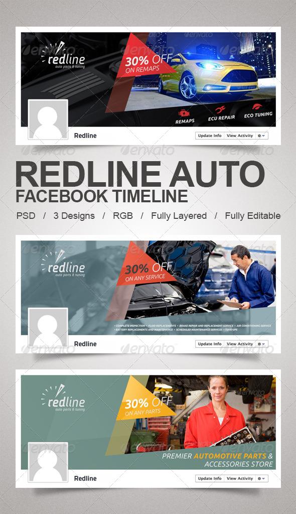 GraphicRiver Redline Auto Timeline 5746817