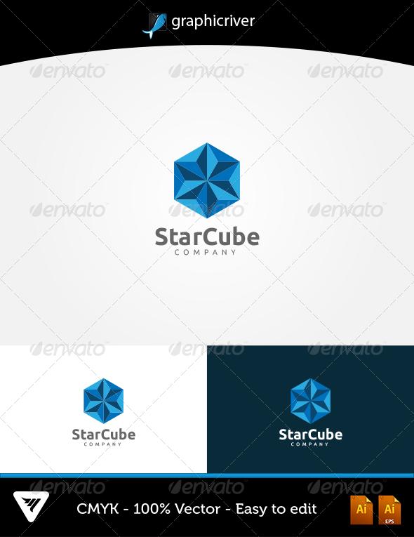 GraphicRiver StarCube Logo 5746819
