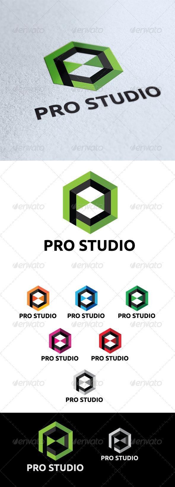 GraphicRiver Pro Studio Logo 5746835